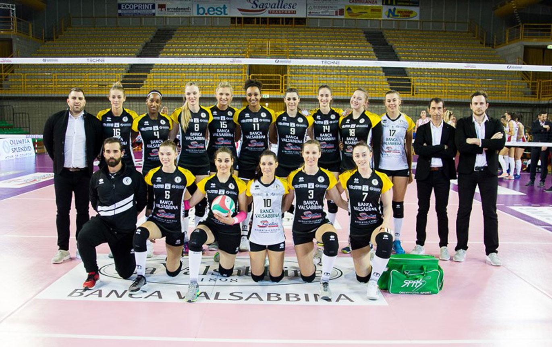 Savallese sponsor Millenium Volley Brescia